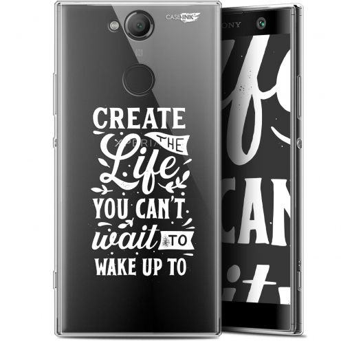 "Coque Gel Sony Xperia XA2 (5.2"") Extra Fine Motif - Wake Up Your Life"
