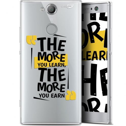 """Coque Gel Sony Xperia XA2 (5.2"""") Extra Fine Motif -  The More You Learn"""