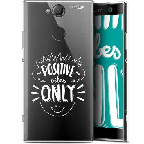 "Coque Gel Sony Xperia XA2 (5.2"") Extra Fine Motif - Positive Vibes Only"