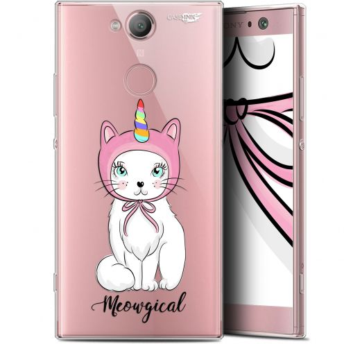 "Coque Gel Sony Xperia XA2 (5.2"") Extra Fine Motif - Ce Chat Est MEOUgical"
