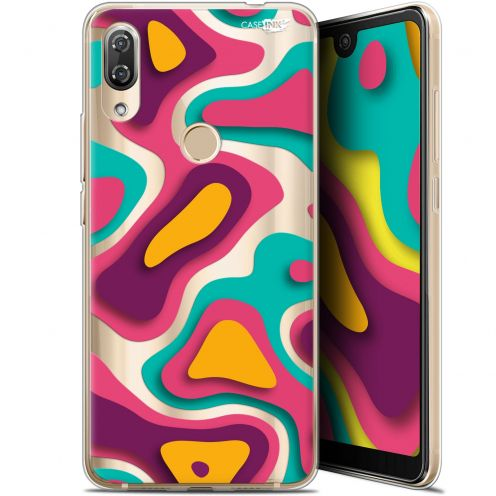 "Coque Gel Wiko View 2 Pro (6"") Extra Fine Motif - Popings"