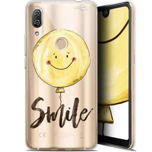 """Coque Gel Wiko View 2 Pro (6"""") Extra Fine Motif -  Smile Baloon"""
