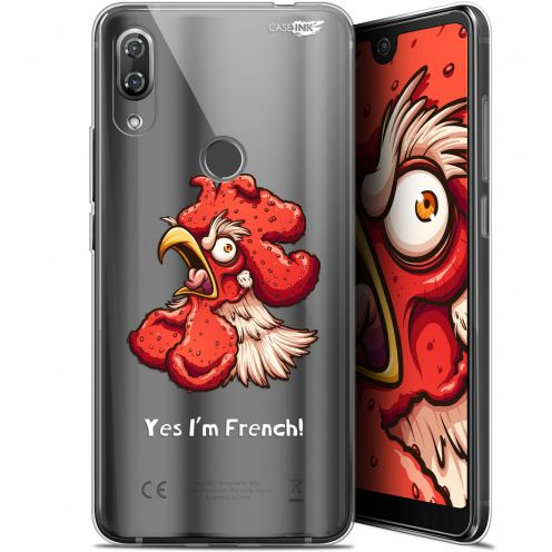 """Coque Gel Wiko View 2 Pro (6"""") Extra Fine Motif -  I'm French Coq"""