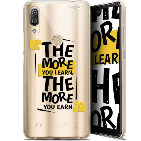 """Coque Gel Wiko View 2 Pro (6"""") Extra Fine Motif -  The More You Learn"""