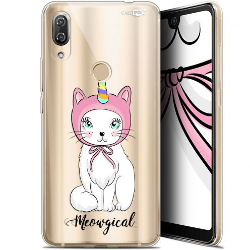 "Coque Gel Wiko View 2 Pro (6"") Extra Fine Motif - Ce Chat Est MEOUgical"