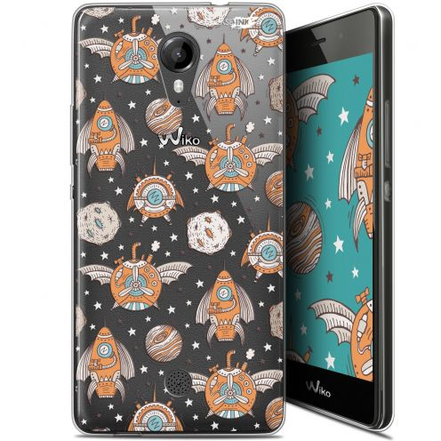 """Coque Gel Wiko Tommy (5"""") Extra Fine Motif -  Punk Space"""