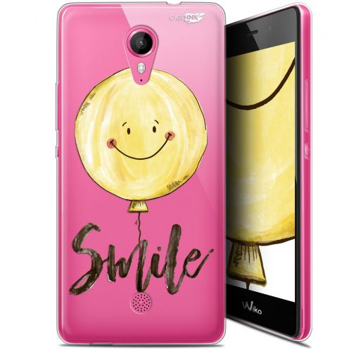 """Coque Gel Wiko Tommy (5"""") Extra Fine Motif -  Smile Baloon"""