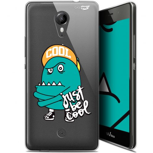 "Coque Gel Wiko Tommy (5"") Extra Fine Motif - Be Cool"