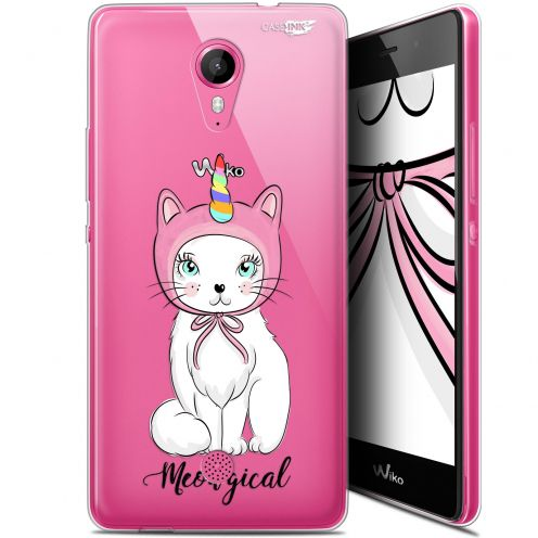 """Coque Gel Wiko Tommy (5"""") Extra Fine Motif -  Ce Chat Est MEOUgical"""
