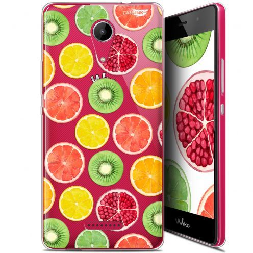 "Coque Gel Wiko Tommy 2 (5"") Extra Fine Motif -  Fruity Fresh"