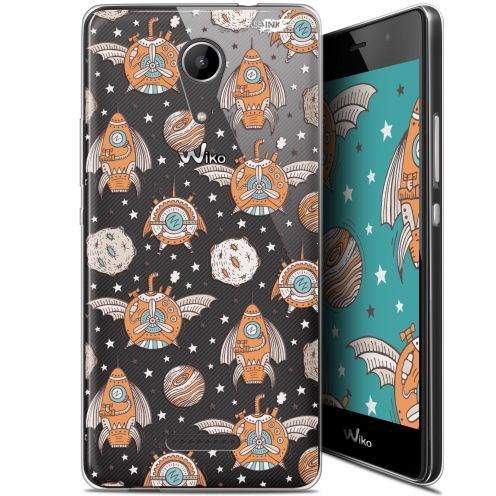 "Coque Gel Wiko Tommy 2 (5"") Extra Fine Motif -  Punk Space"