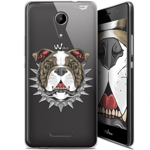 "Coque Gel Wiko Tommy 2 (5"") Extra Fine Motif -  Doggy"