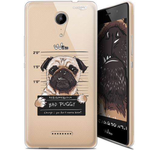 "Coque Gel Wiko Tommy 2 (5"") Extra Fine Motif -  Beware The Puggy Dog"