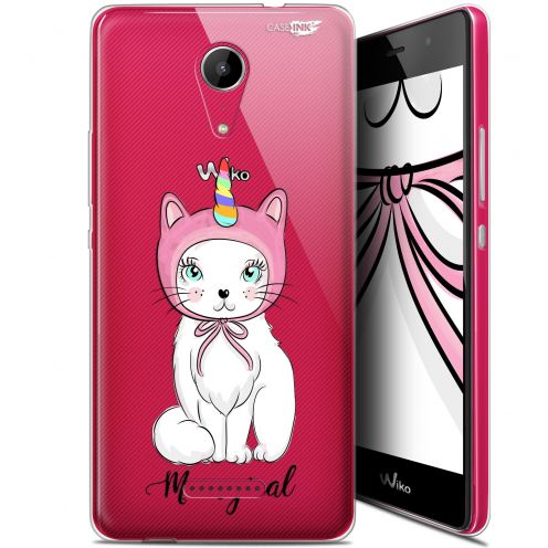 """Coque Gel Wiko Tommy 2 (5"""") Extra Fine Motif - Ce Chat Est MEOUgical"""