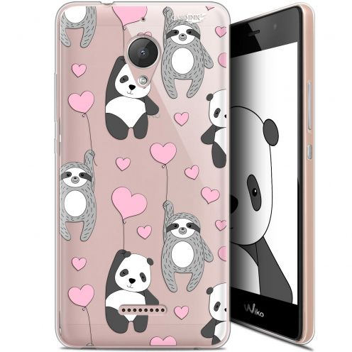 "Coque Gel Wiko Tommy 2 Plus (5.5"") Extra Fine Motif -  Panda'mour"