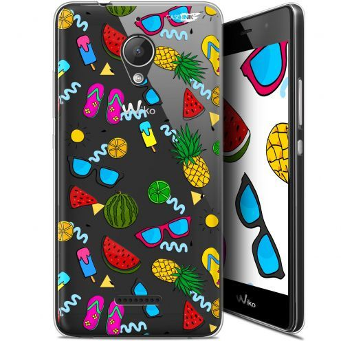 "Coque Gel Wiko Tommy 2 Plus (5.5"") Extra Fine Motif -  Summers"