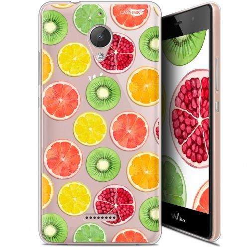 "Coque Gel Wiko Tommy 2 Plus (5.5"") Extra Fine Motif -  Fruity Fresh"