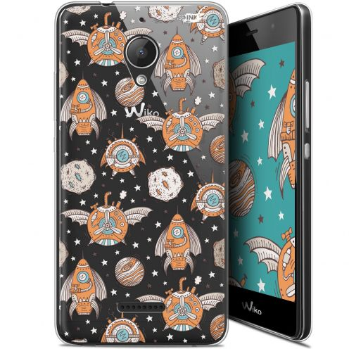 "Coque Gel Wiko Tommy 2 Plus (5.5"") Extra Fine Motif -  Punk Space"