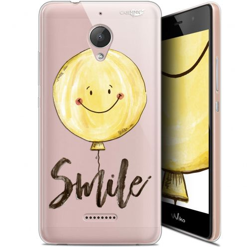"Coque Gel Wiko Tommy 2 Plus (5.5"") Extra Fine Motif -  Smile Baloon"