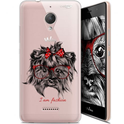 "Coque Gel Wiko Tommy 2 Plus (5.5"") Extra Fine Motif -  Fashion Dog"