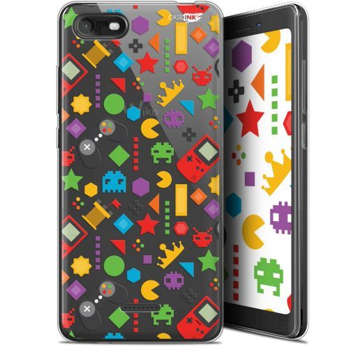"Coque Gel Wiko Tommy 3 (5.45"") Extra Fine Motif - PacMan"