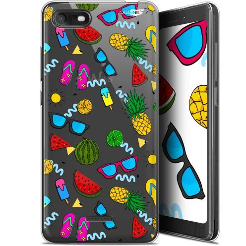 """Coque Gel Wiko Tommy 3 (5.45"""") Extra Fine Motif -  Summers"""