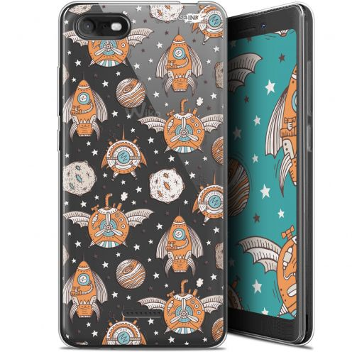 """Coque Gel Wiko Tommy 3 (5.45"""") Extra Fine Motif -  Punk Space"""
