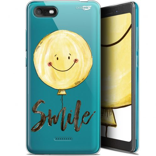 """Coque Gel Wiko Tommy 3 (5.45"""") Extra Fine Motif -  Smile Baloon"""