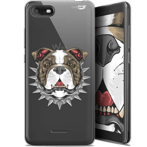 "Coque Gel Wiko Tommy 3 (5.45"") Extra Fine Motif - Doggy"
