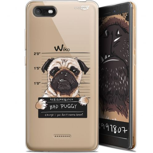 "Coque Gel Wiko Tommy 3 (5.45"") Extra Fine Motif - Beware The Puggy Dog"