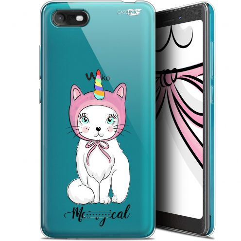 """Coque Gel Wiko Tommy 3 (5.45"""") Extra Fine Motif -  Ce Chat Est MEOUgical"""