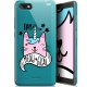 """Coque Gel Wiko Tommy 3 (5.45"""") Extra Fine Motif -  I Am MEOUgical"""