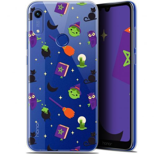 "Coque Gel Huawei Honor 8A (6.1"") Extra Fine Halloween - Witch Potter"