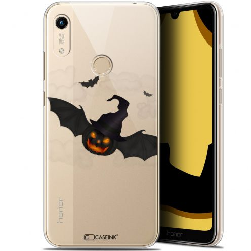 "Coque Gel Huawei Honor 8A (6.1"") Extra Fine Halloween - Chauve Citrouille"