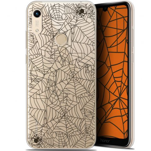 """Coque Gel Huawei Honor 8A (6.1"""") Extra Fine Halloween - Spooky Spider"""
