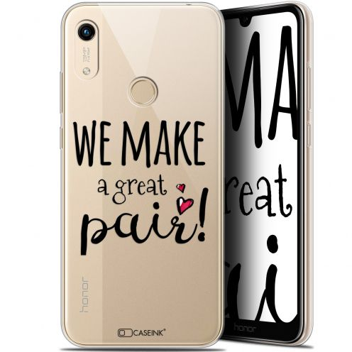 "Coque Gel Huawei Honor 8A (6.1"") Extra Fine Love - We Make Great Pair"