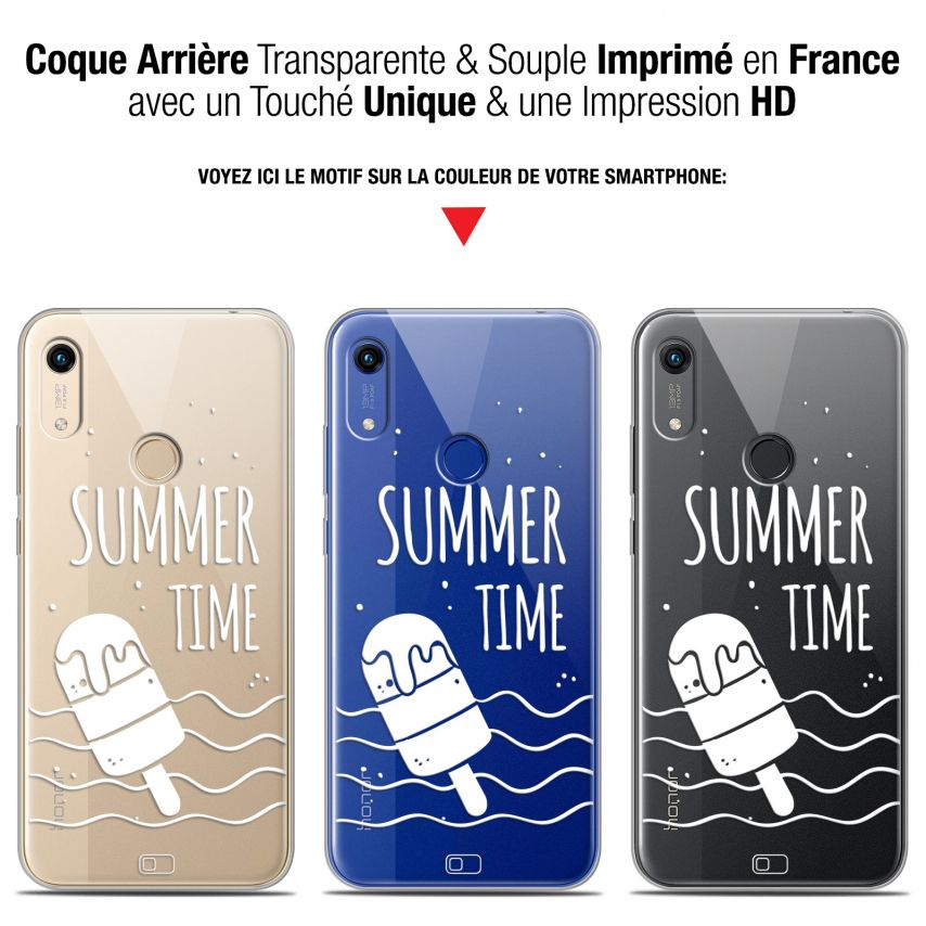 """Coque Gel Huawei Honor 8A (6.1"""") Extra Fine Summer - Summer Time"""