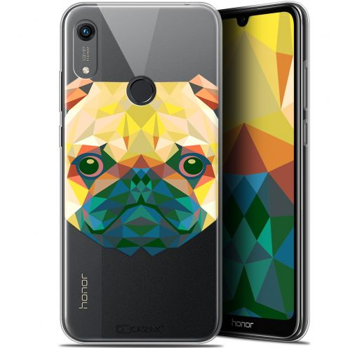 "Coque Gel Huawei Honor 8A (6.1"") Extra Fine Polygon Animals - Chien"