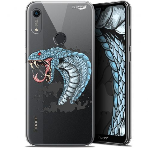 "Coque Gel Huawei Honor 8A (6.1"") Extra Fine Motif - Cobra Draw"