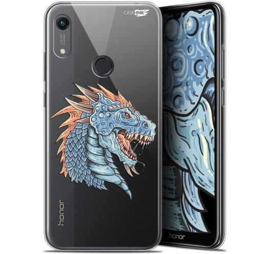"Coque Gel Huawei Honor 8A (6.1"") Extra Fine Motif - Dragon Draw"