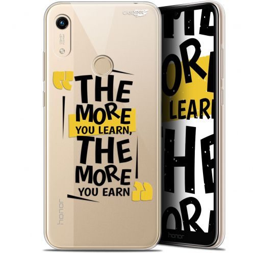 "Coque Gel Huawei Honor 8A (6.1"") Extra Fine Motif - The More You Learn"