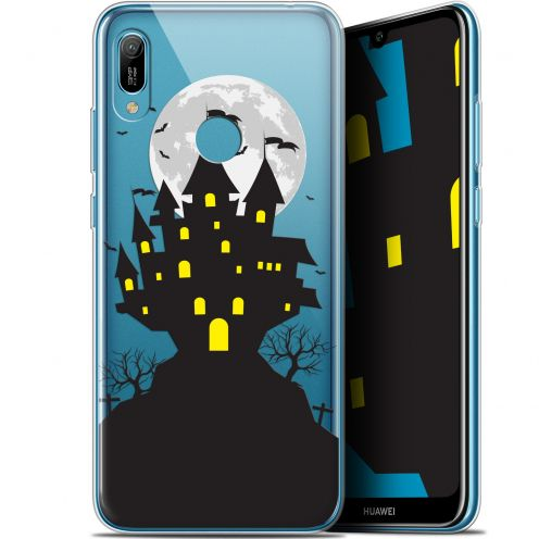 "Coque Gel Huawei Y6 2019 (6.1"") Extra Fine Halloween - Castle Scream"