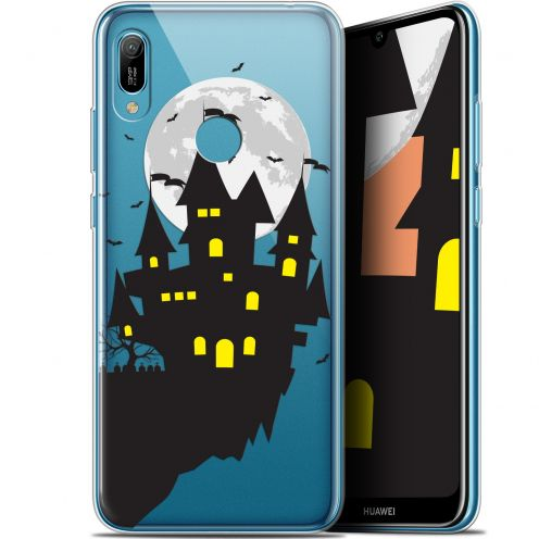 "Coque Gel Huawei Y6 2019 (6.1"") Extra Fine Halloween - Castle Dream"