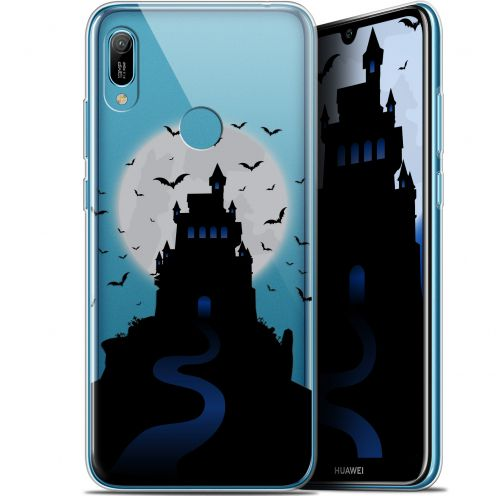 "Coque Gel Huawei Y6 2019 (6.1"") Extra Fine Halloween - Castle Nightmare"
