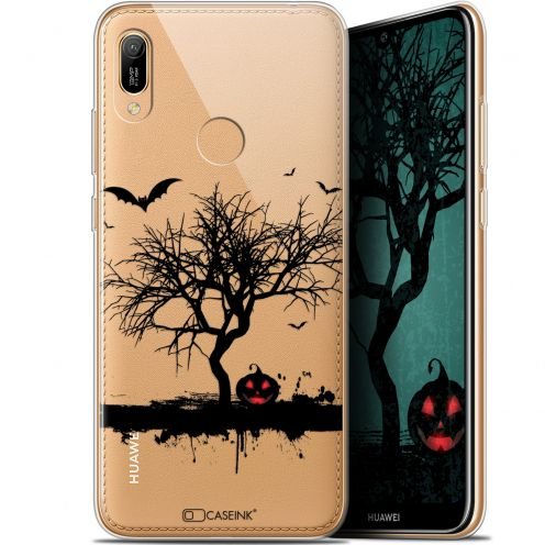 "Coque Gel Huawei Y6 2019 (6.1"") Extra Fine Halloween - Devil's Tree"