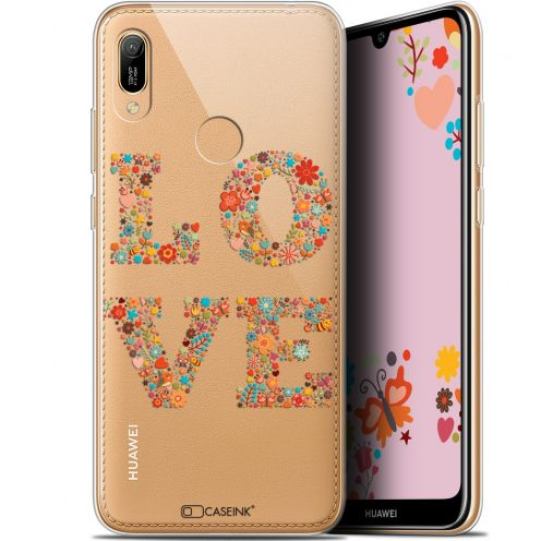 "Coque Gel Huawei Y6 2019 (6.1"") Extra Fine Summer - Love Flowers"