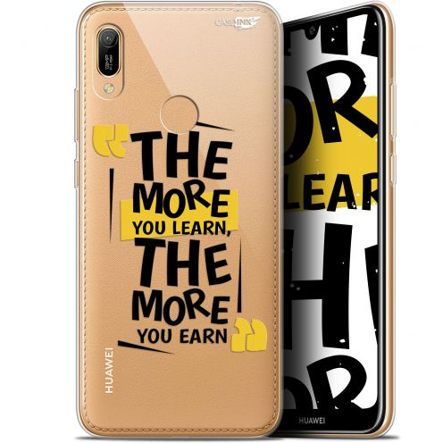 "Coque Gel Huawei Y6 2019 (6.1"") Extra Fine Motif - The More You Learn"