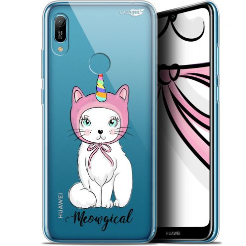 "Coque Gel Huawei Y6 2019 (6.1"") Extra Fine Motif -  Ce Chat Est MEOUgical"