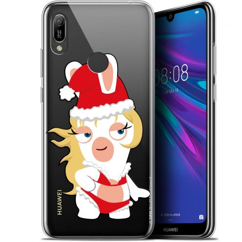 """Coque Gel Huawei Y6 2019 (6.1"""") Extra Fine Lapins Crétins™ - Lapin Danseuse"""