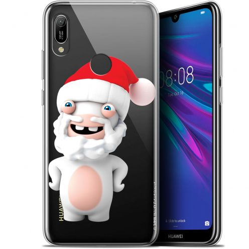 """Coque Gel Huawei Y6 2019 (6.1"""") Extra Fine Lapins Crétins™ - Lapin Noël"""